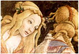 Sandro Botticelli Sistine Chapel The Youth of Moses Detail Art Print Poster Prints