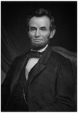 Portrait of President Abraham Lincoln Art Print Poster Prints