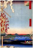 Utagawa Hiroshige Asakusa River Posters