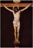 Velasquez Christ on the Cross Art Print Poster Prints