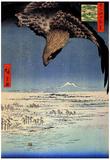 Utagawa Hiroshige Fukagawa Susaki Eagle Art Print Poster Pôsters