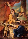 Nicolas Poussin (St. Cecilia) Art Poster Print Masterprint
