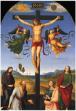 Raphael Crucified Christ Art Print Poster Posters