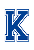 Varsity Letter K Make Your Own Banner Sign Poster Posters