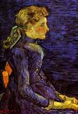 Vincent Van Gogh Portrait of Adeline Ravoux Art Print Poster Masterprint