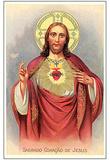 Sacred Heart of Jesus Christ (Portrait) Art Poster Print Photo