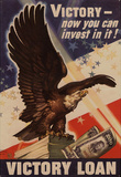 Victory Now Your Can Invest In It Victory Loan WWI War Propaganda Art Print Poster Masterprint