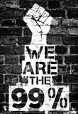 We are the 99 Percent Poster Masterprint