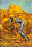 Vincent Van Gogh Sheaf Binder Art Print Poster Print