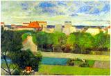 Vegetable Famers in Vauguirard Posters van Paul Gauguin