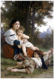 William-Adolphe Bouguereau Rest Art Print Poster Prints