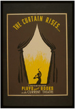 WPA (The Curtain Rises...) Art Poster Print Poster