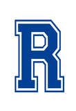 Varsity Letter R Make Your Own Banner Sign Poster Posters