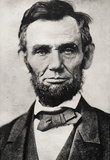 President Abraham Lincoln Portrait Archival Photo Poster Print Masterprint