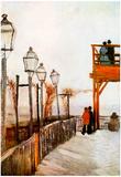 Vincent Van Gogh Montmartre Art Print Poster Posters