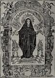 Wood cutters of the 18th Century from Gerona (St. Rita) Art Poster Print Masterprint