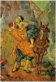 Vincent Van Gogh (The Good Samaritan (after Delacroix)) Art Poster Print Posters