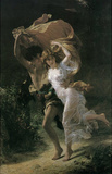 Pierre Auguste Cot (The Storm) Art Poster Print Masterprint
