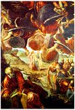 Tintoretto The Ascension Art Print Poster Prints