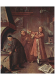 Pietro Longhi (The alchemists) Art Poster Print Prints
