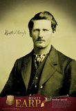 Wyatt Earp Archival Photo Poster Print Masterprint