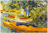 Vincent Van Gogh The Riverbank La Grenouillere Art Print Poster Prints