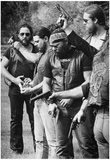 Zulus Motorcycle Club Funeral 1982 Archival Photo Poster Posters