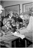 Tuskegee Airmen Group Archival Photo Poster Print