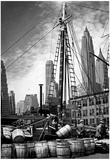 New York City Waterfront 1936 Archival Photo Poster Print Posters