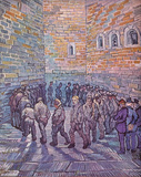 Vincent Van Gogh (Prisoners Exercising, After Dore) Art Poster Print Masterprint