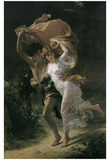 Pierre Auguste Cot (The Storm) Art Poster Print Prints