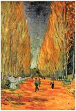 Vincent Van Gogh Les Alyscamps 3 Art Print Poster Prints
