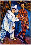 Paul Cezanne Mardi Gras Art Print Poster Poster