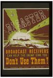 World War II (Disaster) Art Poster Print Prints
