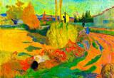 Paul Gauguin Von Arles Art Print Poster Masterprint