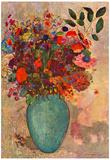 Odilon Redon Turkish Vase Art Print Poster Billeder