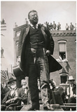 President Theodore Roosevelt Speech Archival Photo Poster Print Plakaty