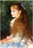 Pierre Auguste Renoir Irene Cahen d'Anvers Art Print Poster Poster