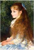 Pierre Auguste Renoir Irene Cahen d'Anvers Art Print Poster Posters