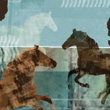 Around the Stable II Prints by Dan Meneely