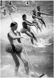 Water Skiing Team Archival Photo Poster Prints