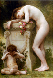 William-Adolphe Bouguereau Elegy Art Print Poster Prints