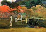 Paul Gauguin Women and Mold Art Print Poster Masterprint