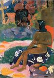 Paul Gauguin Vairaumati Art Print Poster Prints