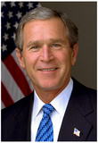 President George W. Bush Historical Photo Print Poster Posters