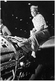 Riveter at Lockheed Aircraft Corp (Burbank, CA, Woman War Worker) Art Poster Print Posters