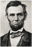 President Abraham Lincoln Portrait Archival Photo Poster Print Photographie