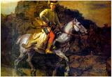 Rembrandt The Polish Rider Art Print Poster Prints