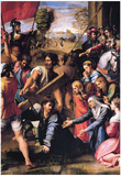 Raphael Christ Carrying the Cross Art Print Poster Print