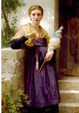 William-Adolphe Bouguereau The Spinne Art Print Poster Masterprint